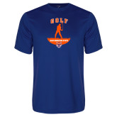 Performance Royal Tee-Golf Stacked