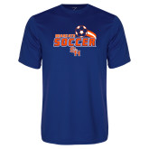 Syntrel Performance Royal Tee-Soccer Swoosh