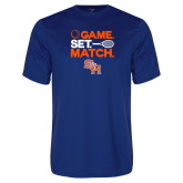 Syntrel Performance Royal Tee-Tennis Game Set Match