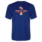 Performance Royal Tee-Track and Field Design