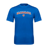 Syntrel Performance Royal Tee-Arched Sam Houston State Bearkats w/Paw