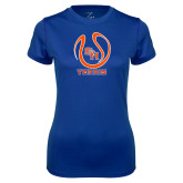 Ladies Syntrel Performance Royal Tee-Tennis Ball