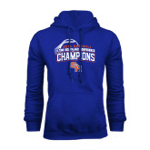 Royal Fleece Hood-Southland Conference Baseball Champions - Arched Version