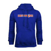 Royal Fleece Hood-Bearkats