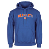 Royal Fleece Hoodie-Arched Bearkats w/Paw