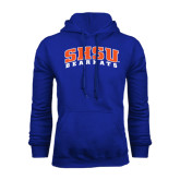 Royal Fleece Hood-Arched SHSU Bearkats