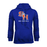 Royal Fleece Hood-Baseball