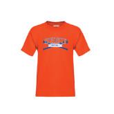Youth Orange T Shirt-Baseball Bats