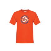 Youth Orange T Shirt-Volleyball Stars Design