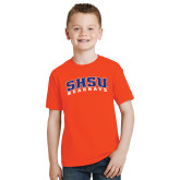 Youth Orange T Shirt-Arched SHSU Bearkats