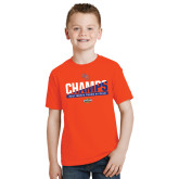 Youth Orange T Shirt-2017 Southland Conference Mens Track and Field
