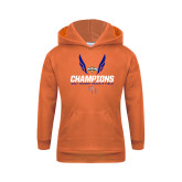 Youth Orange Fleece Hood-Southland Conference Indoor Track and Field Champions