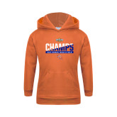 Youth Orange Fleece Hoodie-Southland Conference Indoor Track and Field Champions