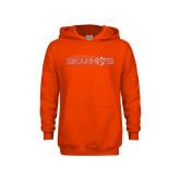 Youth Orange Fleece Hood-Sam Houston Bearkats