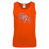 Orange Tank Top-SH Paw Official Logo