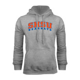 Grey Fleece Hood-Arched SHSU Bearkats