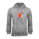 Grey Fleece Hood-Paw