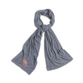 Grey Eco Jersey Bundle Up Scarf-SH Paw Official Logo