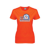Ladies Orange T Shirt-Southland Conference Baseball Champions