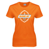 Ladies Orange T Shirt-Orange Out 2016