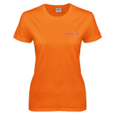Ladies Orange T Shirt-Sam Houston Bearkats