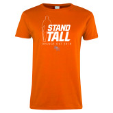 Ladies Orange T Shirt-2018 Orange Out