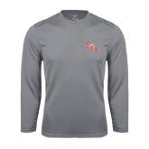 Syntrel Performance Steel Longsleeve Shirt-SH Paw Official Logo