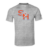 Adidas Climalite Sport Grey Ultimate Performance Tee-SH Paw Official Logo