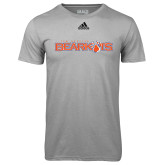 Adidas Climalite Sport Grey Ultimate Performance Tee-Sam Houston Bearkats