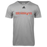 Adidas Climalite Sport Grey Ultimate Performance Tee-Sam Houston Bearkats
