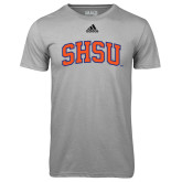 Adidas Climalite Sport Grey Ultimate Performance Tee-Arched SHSU