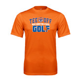 Performance Orange Tee-Golf Tee Off