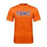 Performance Orange Tee-Baseball Design