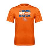 Performance Orange Tee-Tennis Game Set Match