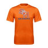 Performance Orange Tee-Grandpa