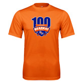 Performance Orange Tee-100th Football Season