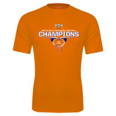 Performance Orange Tee-2016 Southland Conference Football Champions