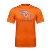 Performance Orange Tee-Baseball