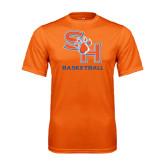 Performance Orange Tee-Basketball