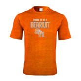 Performance Orange Heather Contender Tee-Proud To Be A Bearkat