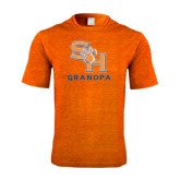 Performance Orange Heather Contender Tee-Grandpa