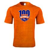 Performance Orange Heather Contender Tee-100th Football Season