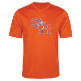 Performance Orange Heather Contender Tee-SH Paw Official Logo