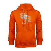 Orange Fleece Hood-Dad