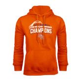 Orange Fleece Hood-Southland Conference Baseball Champions - Arched Version