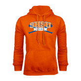 Orange Fleece Hood-Baseball Bats
