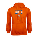 Orange Fleece Hood-Tennis Game Set Match