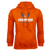 Orange Fleece Hood-2016 Southland Conference Champions Indoor Track & Field