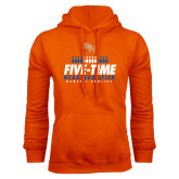 Orange Fleece Hood-Five-Time NCAA Qualifier Womens Bowling