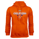 Orange Fleece Hood-2016 Southland Conference Football Champions